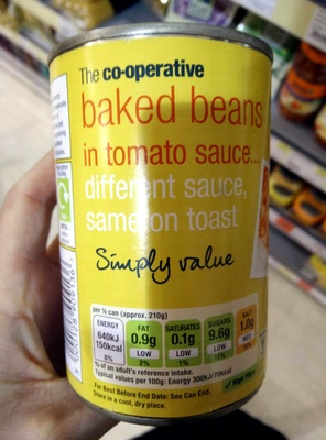 Baked beans in tomato sauce - Product - en