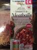 Spaghetti & Meatballs - Produit