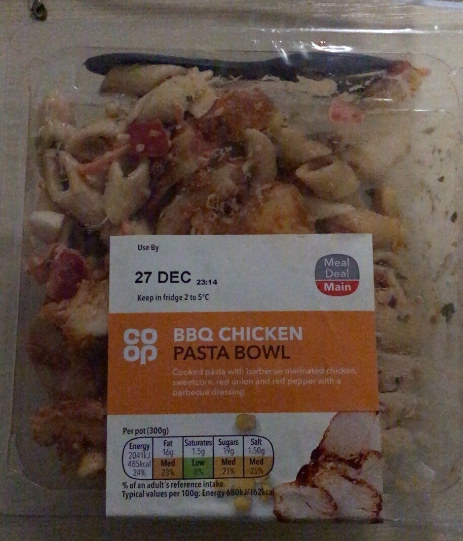 BBQ Chicken Pasta Bowl - Product - en