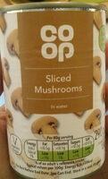 Sliced Mushrooms - Product