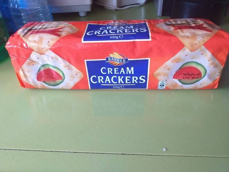 Barber Cream Crackers - Producto - fr