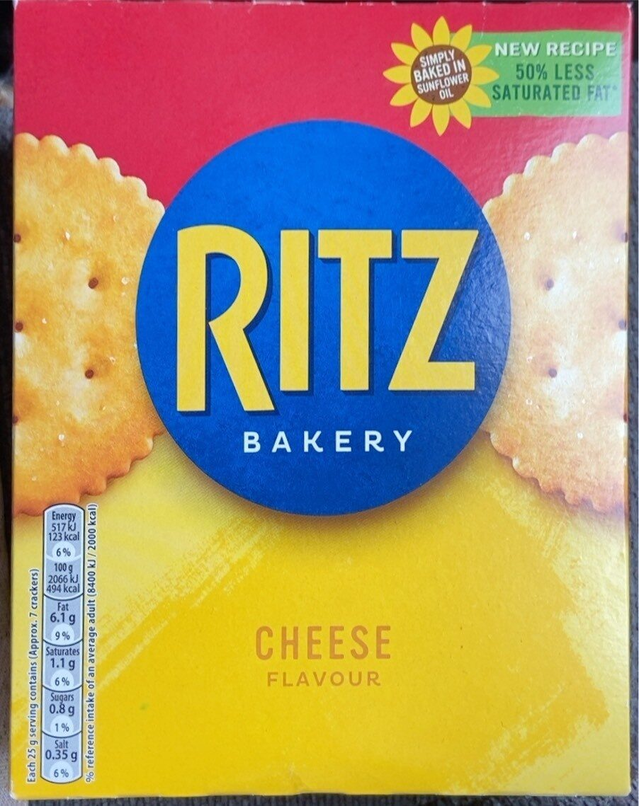 Ritz Cheese Flavour - Product - en