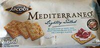 Jacob's mediterraneo bread crackers salted - Product - en