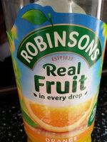 Orange Squash No Added Sugar - Product - en