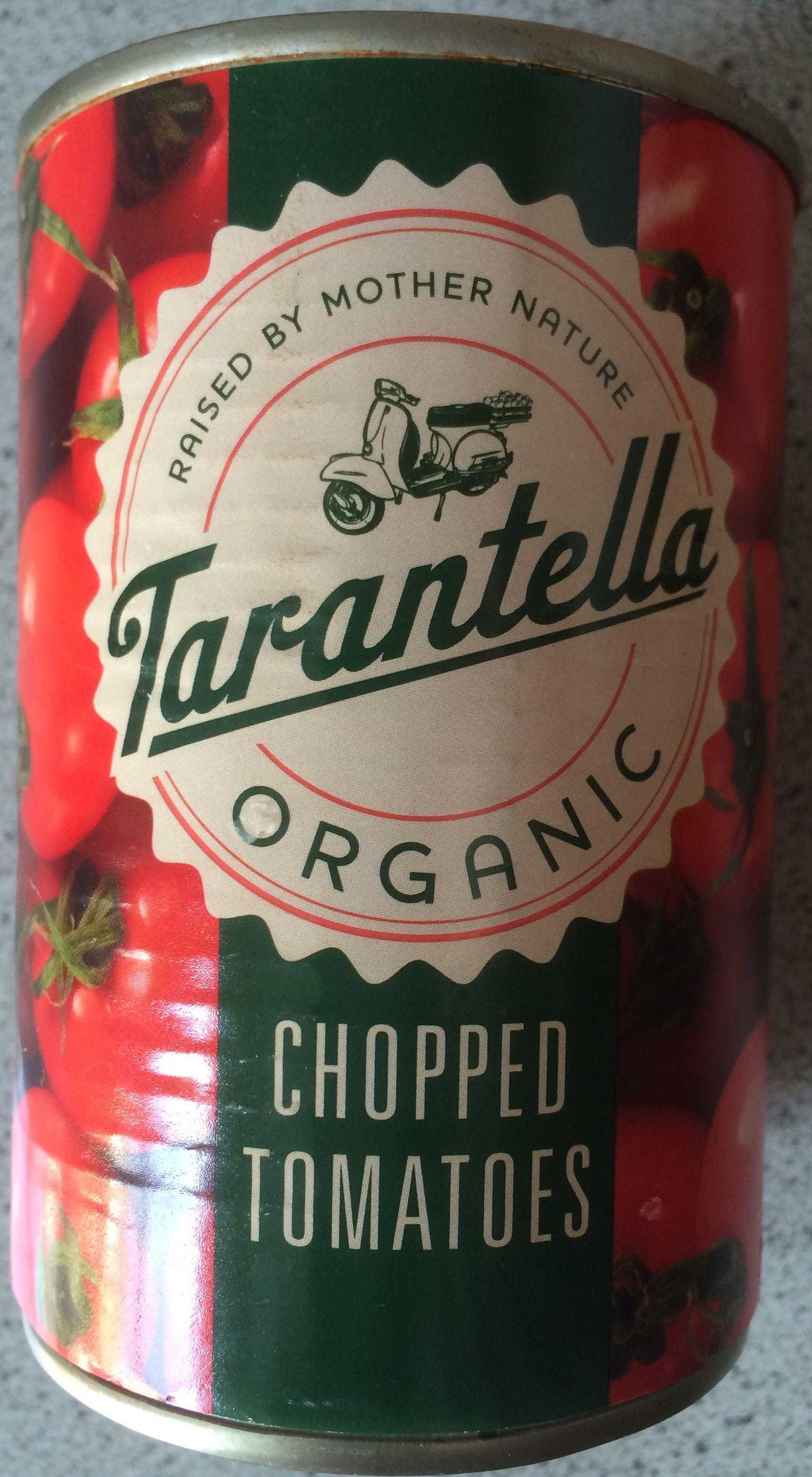 Tarantella Organic Chopped Tomatoes - Product - en