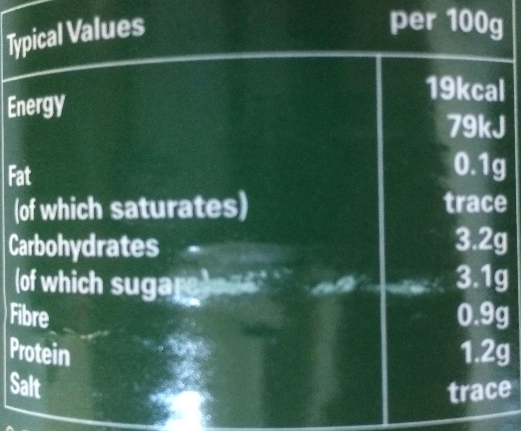 Tarantella Organic Chopped Tomatoes - Nutrition facts - en