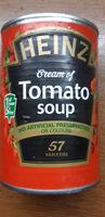 HEINZ cream of tomate soup - Prodotto - en