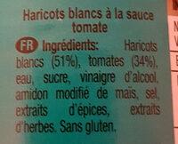 Baked beans in tomato sauce - Ingredientes - es