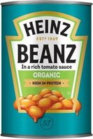 Organic Beanz in a Rich Tomato Sauce - Product - en