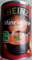 Minestrone soup 405 g - Product