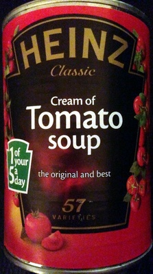 cream of tomato soup - Product - en