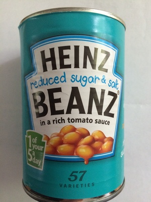 Reduced Sugar and Salt Baked Beans in Tomato sauce - Produit