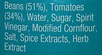 Heinz Baked Beans - Ingredients - en