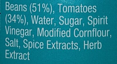 Heinz Baked Beans - Συστατικά