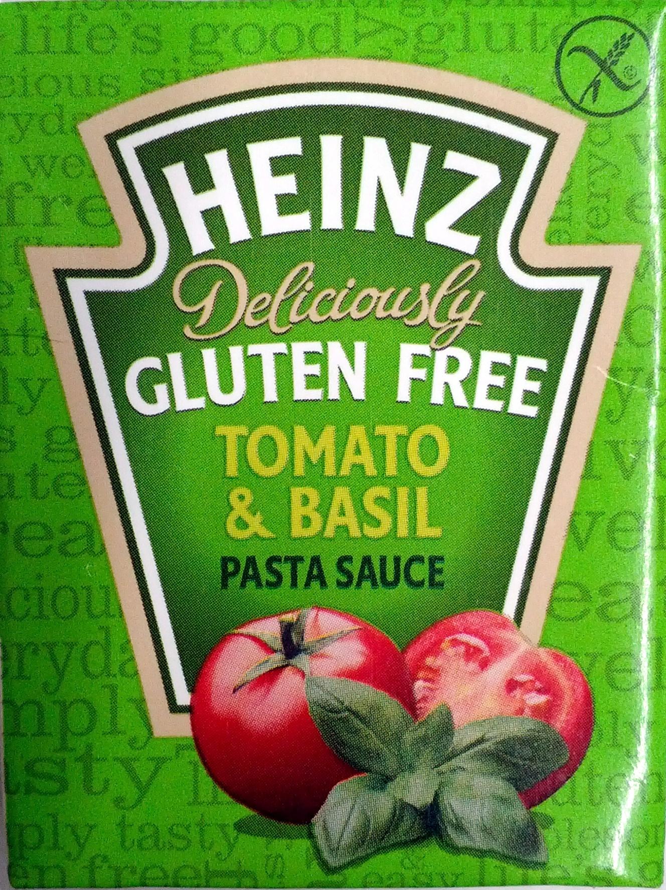 Gluten Free Tomato & Basil pasta Sauce - Produit - en