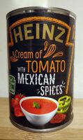 Cream of Tomato Soup with Mexican Spices - Prodotto - en