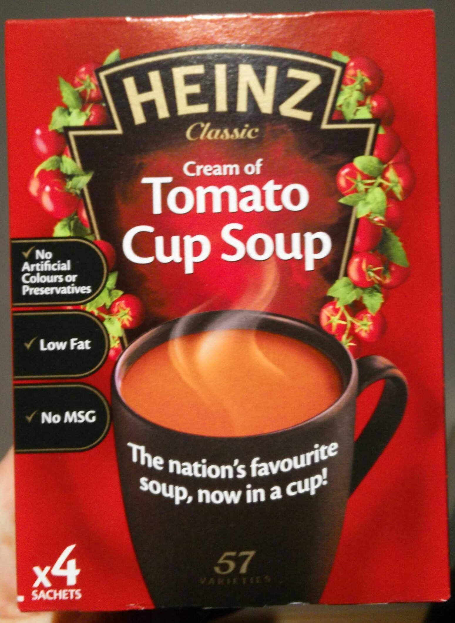 Cream of Tomato Cup Soup - Product