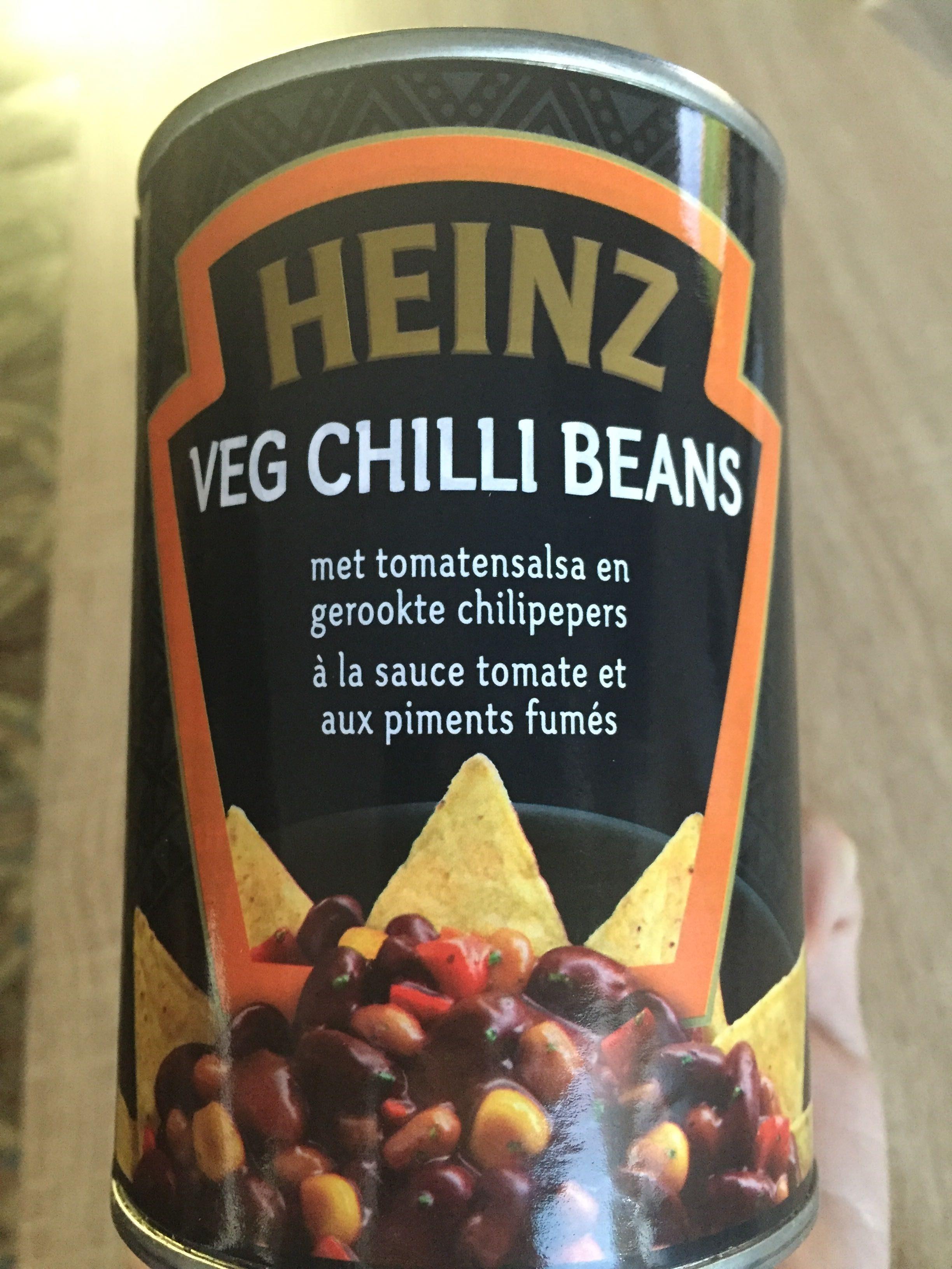 Heinz Veg Chilli Beanz Tomato Salsa & Smoked Chilli Red Kidney Beans - Produit