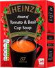 Cream of Tomato & Basil Cup Soup 4 x (88g) - Produit