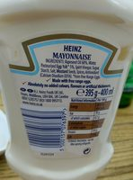 Heinz Seriously Good Squeezy Mayonnaise - Ingredients - en
