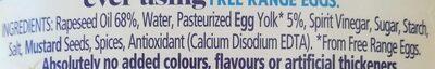 [Seriously] Good Mayonnaise - Ingredients - en