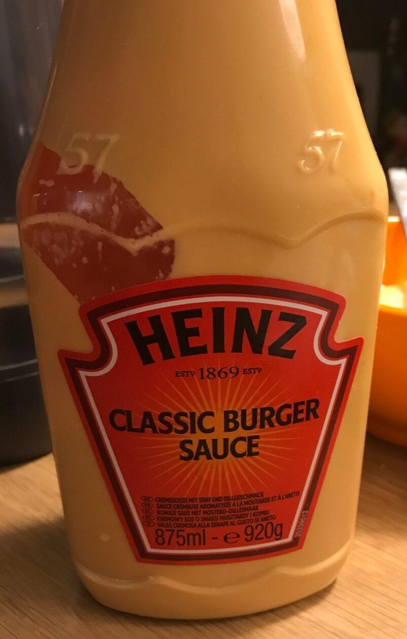 Classic Burger Sauce - Product - fr