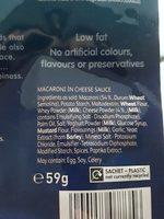 Kraft Mac & Cheese, Classic - Ingredients