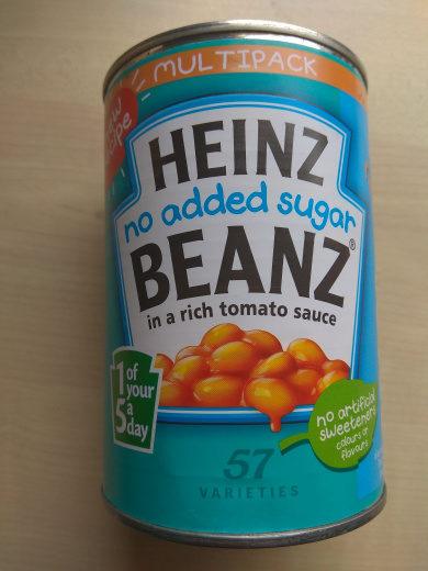 No added sugar BEANZ - Produit
