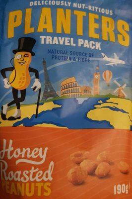 Honey roasted peanuts - Produit - fr