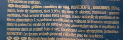 Honey roasted peanuts - Ingrédients - fr