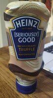 Heinz Rich&Creamy Truffle Mayonnaise - Prodotto - en
