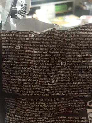 M &M'S Choco Pouch 250G - Ingredients