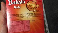 Barres de céréales aux noix - Voedingswaarden - fr