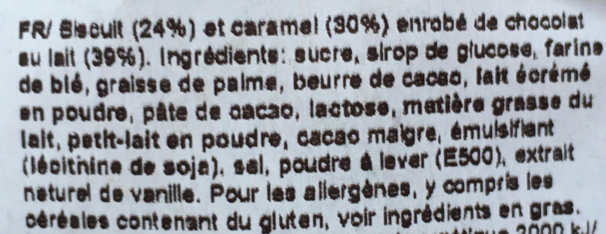 Twix Miniatures - Ingredientes - fr