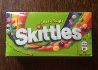 Skittles Crazy Sours Goûts Fruits Acidulés - Product