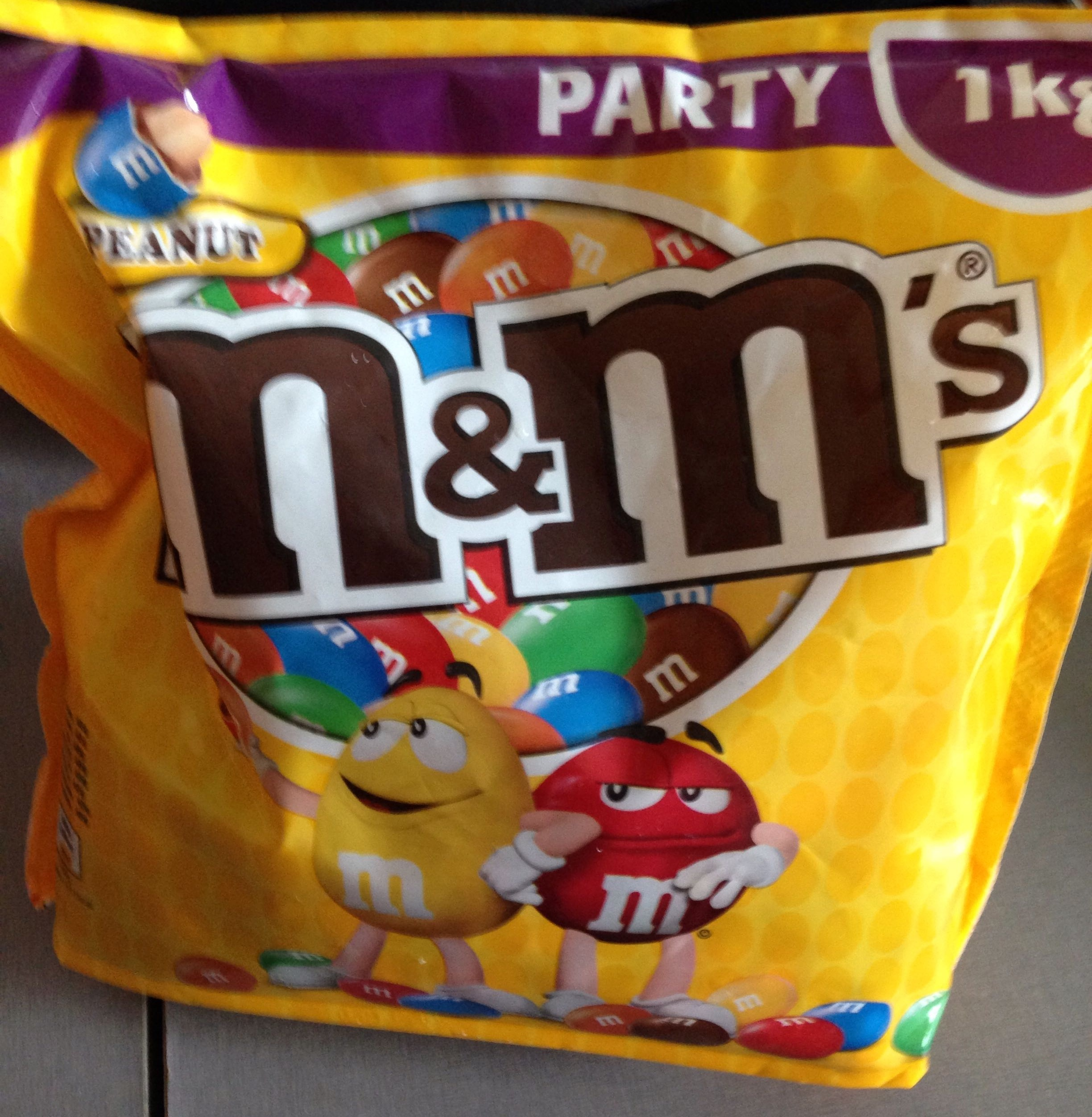 M&M's Party 1kg - Produit