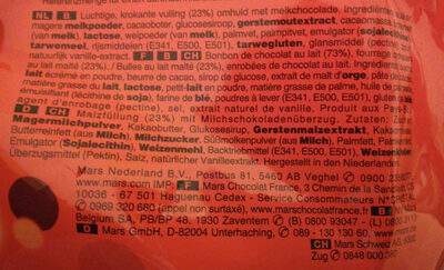 Maltesers maxi pack - Ingrediënten - nl