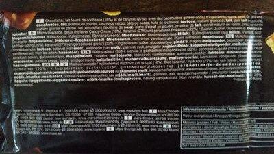 Snickers x10 - Ingrédients - fr