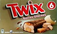 Twix barres glacées - Produit - fr