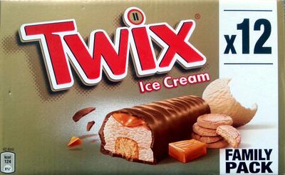 TWIX ice cream - Producto - fr