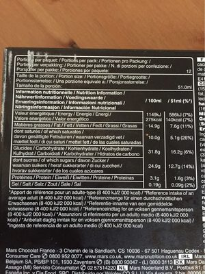 Ice cream Family pack - Informations nutritionnelles - fr