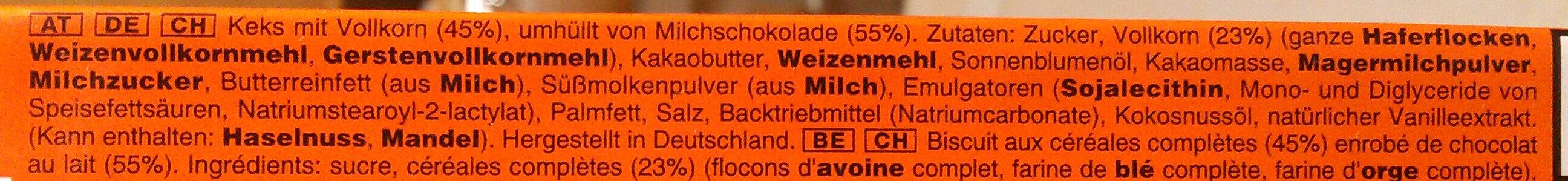 Balisto korn ×9 - Ingredients