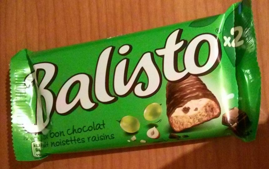 Balisto raisins et noisettes x 2 - Product