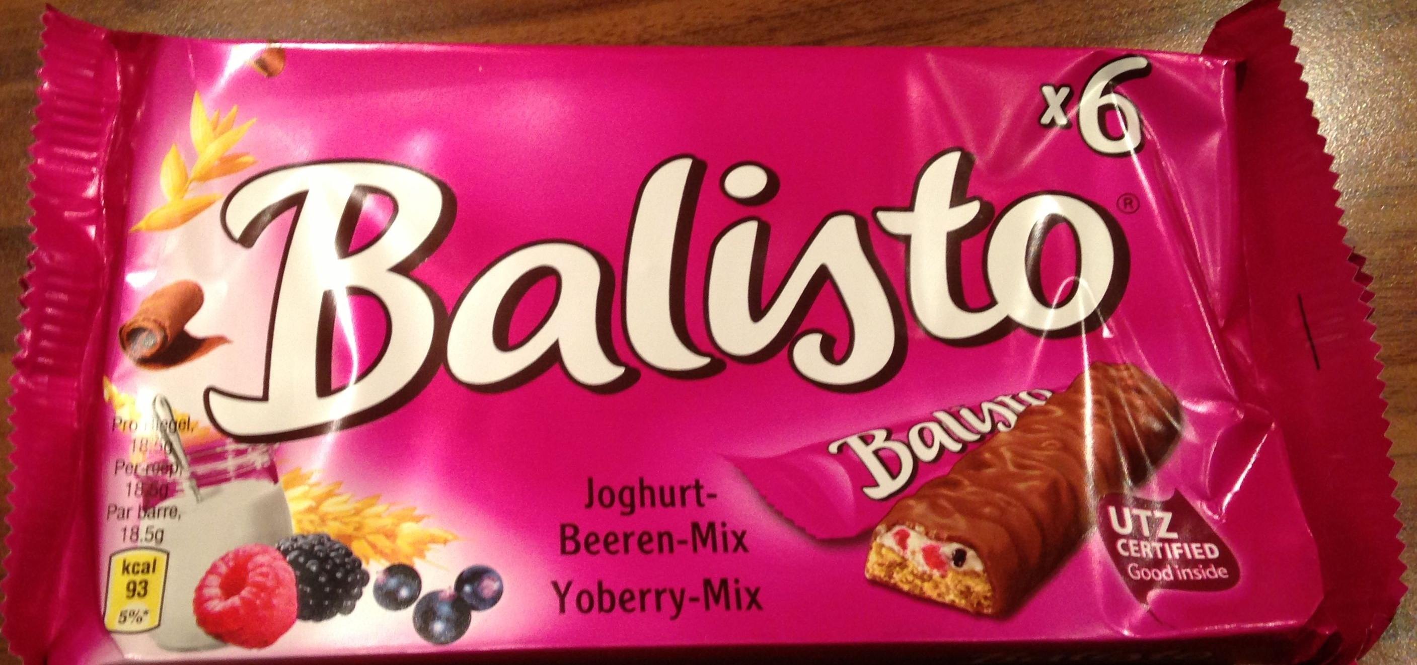 Balisto yaourts fruit des bois - Produit