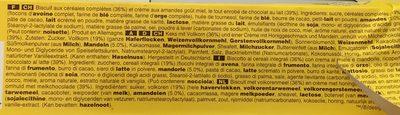 Miel amandes - Ingrediënten - fr
