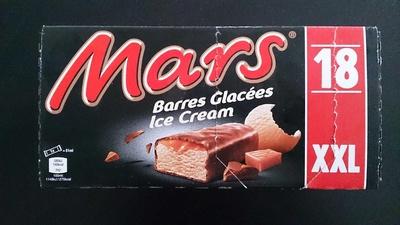 Mars Barres Glacées - Produit