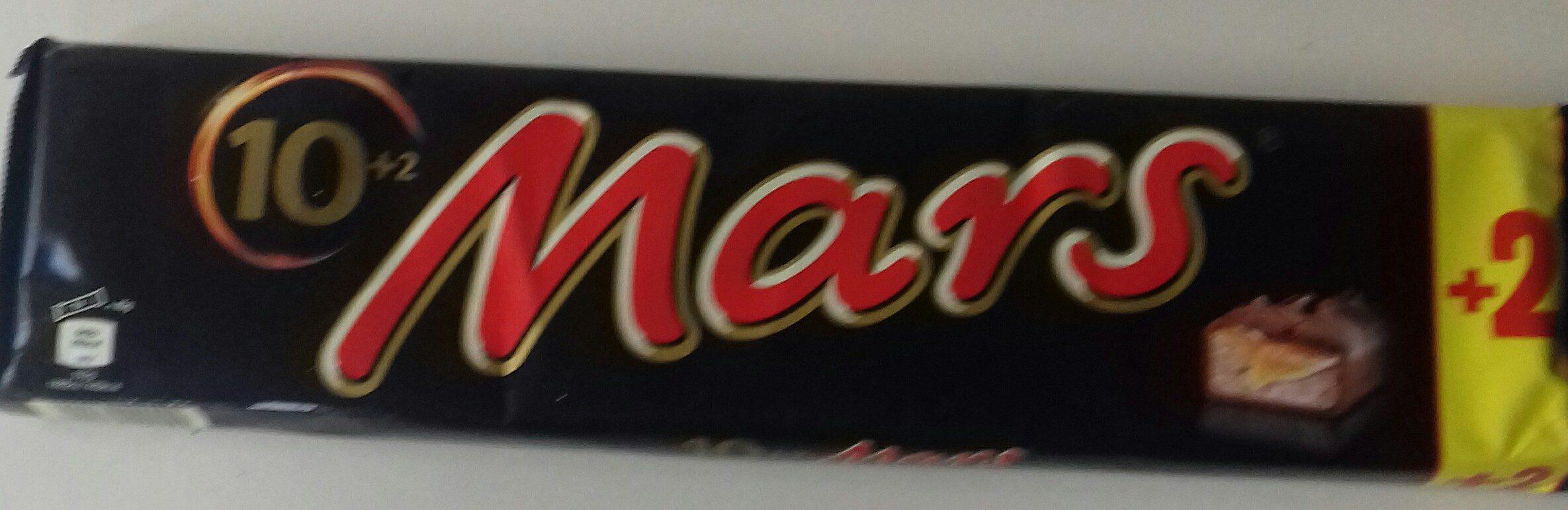 Mars 10+2 Riegel 540G - Product