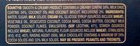 Bounty Smooth & Creamy Frozen Bars - Ingredients - en