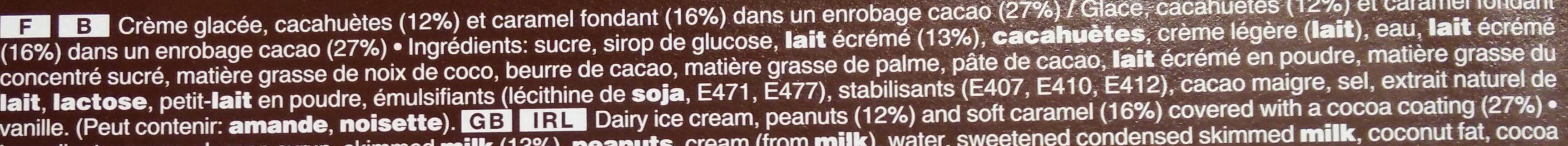 Snickers Ice Cream - Ingrédients - fr
