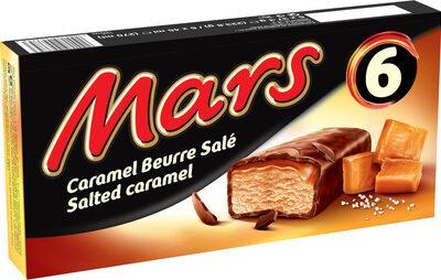 Mars glacé caramel au beurre salé x6 - Produit - fr